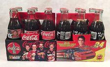 2 Coca Cola 6 pcks NASCAR Jeff Gordon 1995 Winston Cup Champion & Official Drink