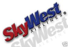 "SkyWest Airlines Logo Fridge Magnet 3.25""x2.25"" Collectibles (LM14019)"