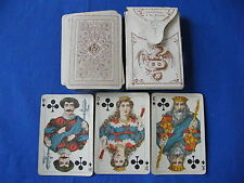 Vintage German Lhombre Playing Cards. Dondorf No. 47  made for D. Voigt Denmark