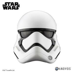 "Anovos Star Wars ""FIRST ORDER STORMTROOPER"" Premier Fiberglass Helmet NEW"