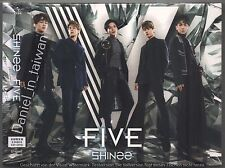 SHINee: Five New Japanese Album 2017 CD+DVD+BOOKLET+PHOTO CARD