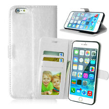 Classic Wallet Leather Flip Case Cover For iPhone 4 4S 5 5S 6 6S 7 8 Plus X XS