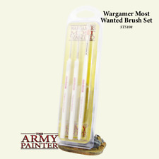 Most Wanted Brush Set - 3 brushes -  Army Painter - NEW & SEALED