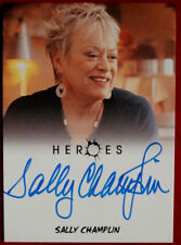 HEROES - SALLY CHAMPLIN as Lynette - Autograph Card - Rittenhouse 2010