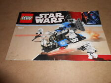 Vintage LEGO Instruction Manual Star Wars 7667
