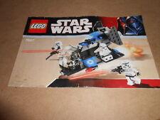 Vintage LEGO Instruction Manual Star Wars 7667