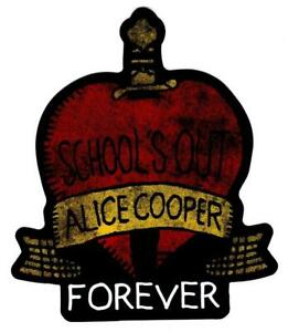 Alice Cooper School's Out Die Cut Sticker Decal Official Rock New