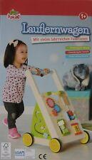 Playland Lauflernwagen Laufhilfe Kinder Baby Laufwagen Holz einstellbare Bremse