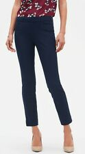 BANANA REPUBLIC WOMEN'S SLOAN FIT SLIM ANKLE PANTS-NAVY BLUE, size 4