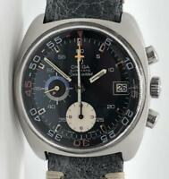 Omega Seamaster 176.007 Automatic Chronograph Steel Blue Dial 38mm w/ Date