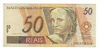50 Reais Brasilien 2006 C320 / P.246m -  Brazil Banknote
