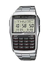 Casio Calculator Watch Classic Vintage Digital Wrist Data Bank Water Resistant