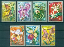 EQUATORIAL GUINEA*1974* compl.set 7 stamps IMP.*MNH** Orchids -Mi.No A428-434KB