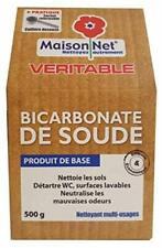 Maison Net Bicarbonate de Soude 500 g tout usage nettoyer entretien domestique