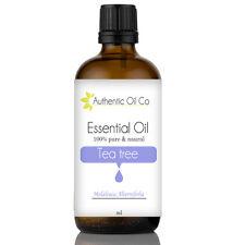 Tea Tree aceite esencial puro 10/50/100/500ml 1 Litro Masaje Natural De Aromaterapia
