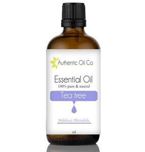 Tea Tree Essential Oil Pure 10/50/100/500ml 1 Litre Natural Aromatherapy Massage