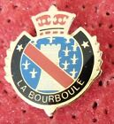 PIN'S VILLE VILLAGE BLASON ECUSSON COURONNE ARMOIRIES LA BOURBOULE
