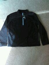 Slazenger golf jacket pullover 1/4 zip black nwt mens large
