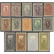 Greece 1901 Flying Hermes (Full Length) Set 14 MLH Stamps Michel 125/38 (4-13)