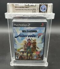 Wild Arms: Alter Code F (Sony PlayStation 2, 2005) PS2 WATA Graded 9.2 A Sealed
