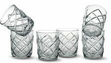 6X Whiskey Tumblers Drinking Glasses Gift Boxed Set Wedding Xmas PINEA