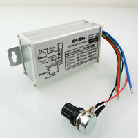New 9V-60V 20A Max PWM DC Motor Stepless Variable Speed Controller 25kHz Switch