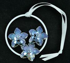 Swarovski Crystal Society (Scs) Hanging Flower Ornament