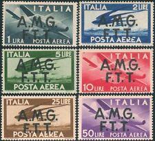 ** Italia Trieste 1947: DEMOCRATICA Aerea[1-6;MNH] €150 Lusso