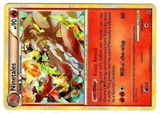 PROMO POKEMON HOLO MOSAIQUE NINETALES 7/123 + ERROR LOGO (MEGA RARE)