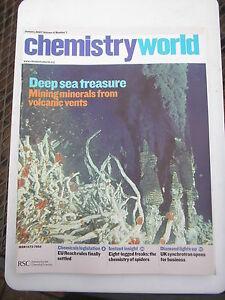 CHEMISTRY WORLD MAGAZINE  2007 X 12 ISSUES