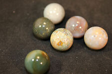 (1) Fancy Jasper Mineral Marble Sphere 19-20mm (LISTING IS FOR 1 SPHERE!)