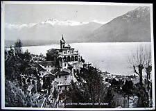 Switzerland~1938  Locarno Ticino~Madonna del Sasso RPPC