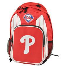 MLB Philadelphia Phillies Zaino Libri Palestra Viaggio Scuola Rosso Nylon Sport