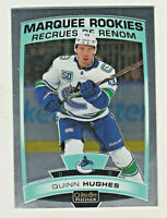 2019-20 OPC Platinum MARQUEE ROOKIES #190 QUINN HUGHES RC Canucks QTY AVAILABLE