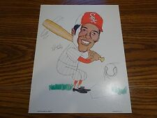 Pat Kelly 1972 Chicago White Sox 11x14 Caricature Chi-Foursome Inc.
