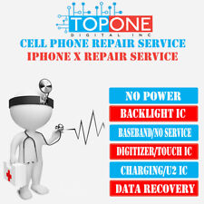 iPhone X NO POWER (POWER MANGERMENT IC) Repair Service 2-4 Business Days