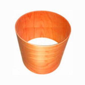 Holzröhre MDF Länge 1000 mm Wandung 10 mm