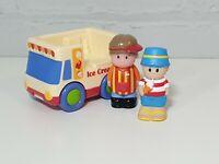 ELC Happyland ice cream van with ice cream man and 1 figure