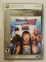 WWE SmackDown vs. Raw 2008 ECW (Microsoft Xbox 360, 2008) CIB FAST SHIPPING!