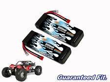 Yeti XL Monster Buggy MaxAmps 2S 150c LiPo 8000 2-cell 7.4v pair of lipos