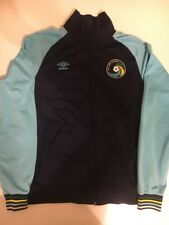 Umbro New York Cosmos Aqua Track Jacket Size XL