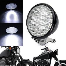 Motorcycle Front Headlight Head Lamp For Harley Cafe Racer Bobber Custom Honda