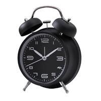 Sveglia a doppio campanello di allarme Sveglia al quarzo analogica con allarme