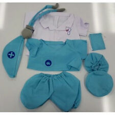"Teddy Bear DOCTOR Costume CLOTHES Fit 14""-18"" Build-a-bear ! NEW ! FREE SHIPPING"