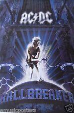 """AC/DC """"BALLBREAKER ALBUM ARTWORK"""" POSTER FROM ASIA -Australian Heavy Metal Music"""