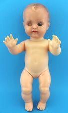 Alte Schildkröt Puppe Baby 28 old doll 30 cm