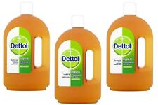 3 X Dettol Antiseptic Disinfectant Liquid 750 ml
