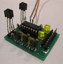 Dual Output, DC or DCC, Occupancy Detector Signal, IR Track Sensors HO TT N NEW!