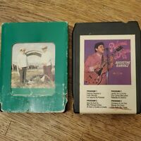 Vintage SPANISH 8 Track Tapes Lot Of 2 Used
