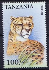 Tanzania 1999 MNH, Cheetah, Endangered Animals species